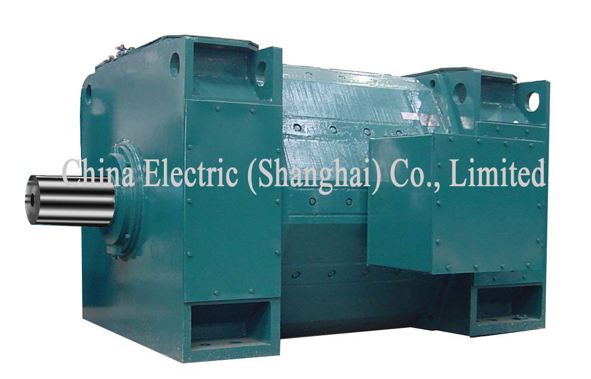 Z Series Large Size Dc Motor China Electric Shanghai Co